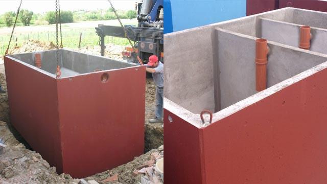 Differenza tra fosse imhoff e fosse settiche for Fosse settiche in cemento