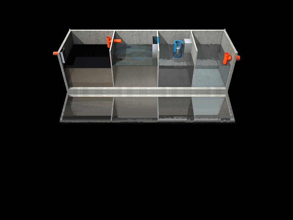 Vasca Da Lavare In Cemento : Disoleatore statico cemento per officina meccanica